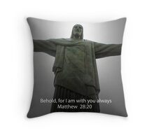 Christ the Redeemer Throw Pillow