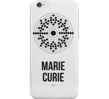 Marie Curie (Dark Lettering) - Clothing & Other Products iPhone Case/Skin
