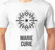 Marie Curie (Dark Lettering) - Clothing & Other Products Unisex T-Shirt
