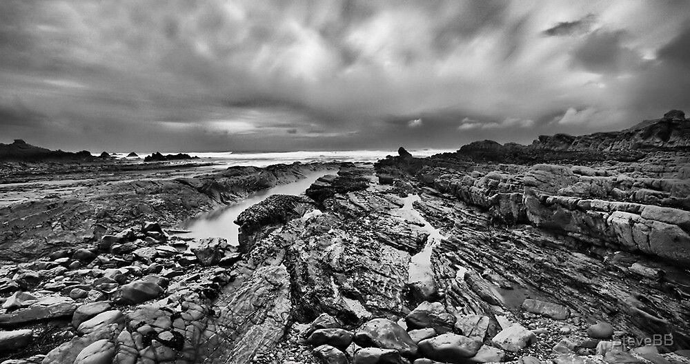Bude Breakwater in Cornwall by SteveBB