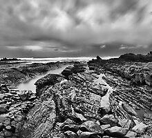 Bude Breakwater in Cornwall by SteveBB