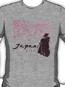 Japan Earthquake Tsunami Relief Cherry Blossoms T-Shirt