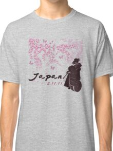 Japan Earthquake Tsunami Relief Cherry Blossoms Classic T-Shirt