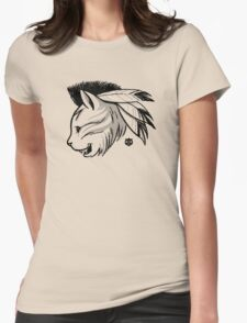 Last of the Meowhicans Womens Fitted T-Shirt