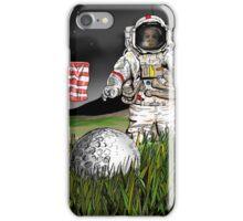 Moon landing iPhone Case/Skin