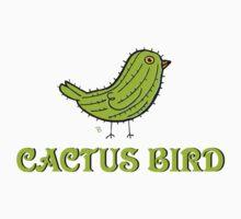 Cactus Bird Kids Clothes