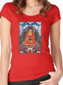Beautiful Buddha Women's Fitted Scoop T-Shirt