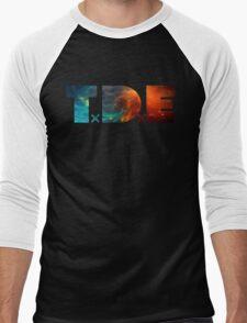 TDE TOP DAWG BLUE AND ORANGE NEBULA T-Shirt