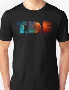 TDE TOP DAWG BLUE AND ORANGE NEBULA Unisex T-Shirt