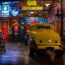 Hot Rod Garage 1 by Stuart Row