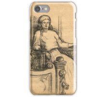 Evening in the old house iPhone Case/Skin