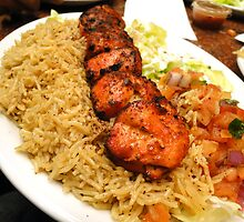 Zesty Chicken Tikka - At Bamiyan Kabab  by Asad Ali