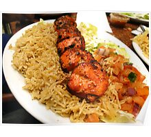 Zesty Chicken Tikka - At Bamiyan Kabab  Poster