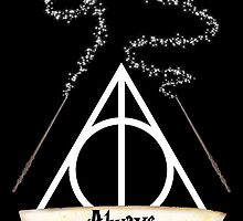 Harry Potter Deathly Hallows by obsidiandream