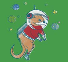 Otter Space  One Piece - Short Sleeve