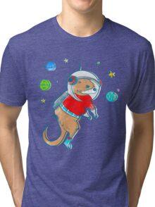 Otter Space  Tri-blend T-Shirt