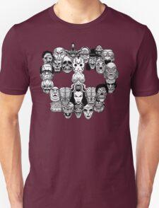 Montser Skull Unisex T-Shirt