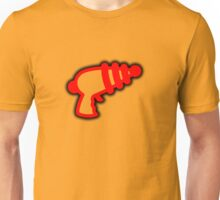 Red 'Muslamic Ray Gun' Unisex T-Shirt