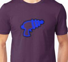 Blue 'Muslamic Ray Gun' Unisex T-Shirt