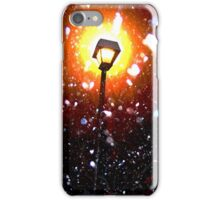 Winter Snow Storm At Night iPhone Case/Skin