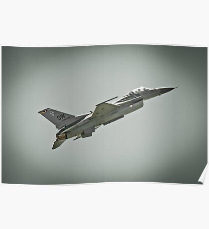 F-16 Climbing Poster