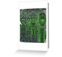 The Forest People Greeting Card