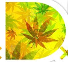TDE TOP DAWG RASTAFARIAN RED YELLOW GREEN WEED Sticker
