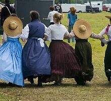 Hoop skirts by Larry  Grayam