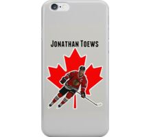 Jonathan Toews iPhone Case/Skin