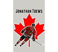 Jonathan Toews Photographic Print