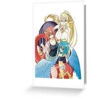 Mia, Papi and Cerea Greeting Card