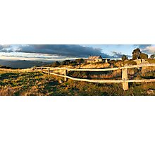 Craig's Hut Autumn Sunset, Australia Photographic Print