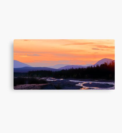Quill Creek Sunrise Canvas Print