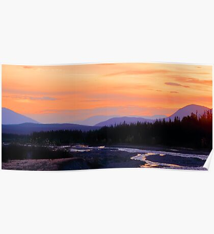 Quill Creek Sunrise Poster