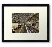 The Metro Framed Print