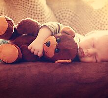 Sweet Dreams with My Teddy by kristideephotog