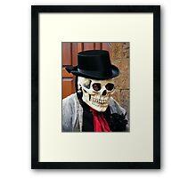 The Skull Framed Print