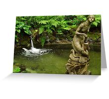Foutains of Yaddo Greeting Card