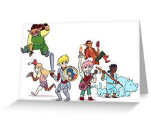 Dungeon Party Greeting Card