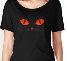 Demon Cat Eyes Women's Relaxed Fit T-Shirt