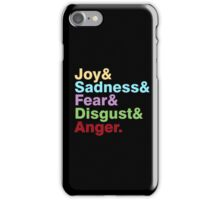 The Emotions iPhone Case/Skin