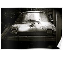 AMC Pacer at Kaufdorf B&W Poster