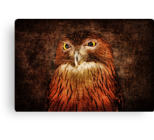 Unimpressed Canvas Print