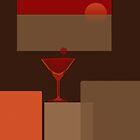 Sunset - it's Martini time - Still life 2 by Marlies Odehnal