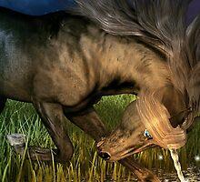 Unicorn Eclipse  by cybercat