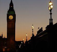Big Ben Backlit by Themis