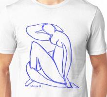 Blue Nude II Unisex T-Shirt