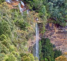 A Good Fall at Katoomba by jayneeldred