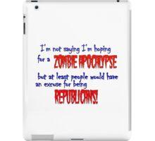 Republican Zombies iPad Case/Skin