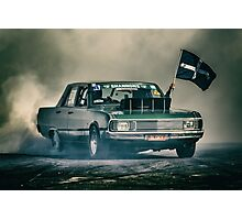 BLOKY Motorfest Burnout Photographic Print
